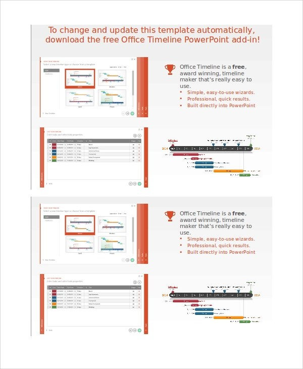 8+ PowerPoint Timeline Samples Sample Templates - powerpoint timeline