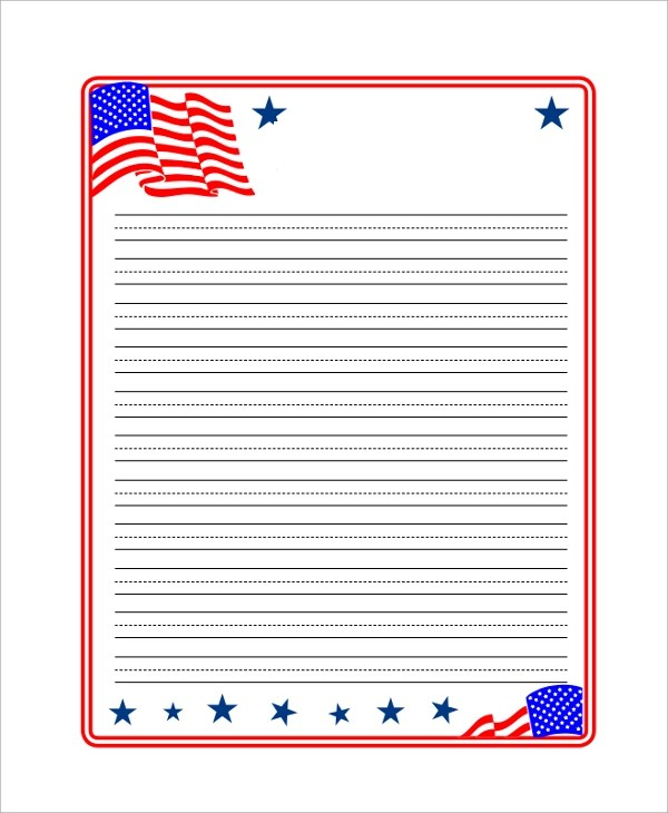 Printable Lined Paper Samples, Examples, Templates - 7+ Examples in
