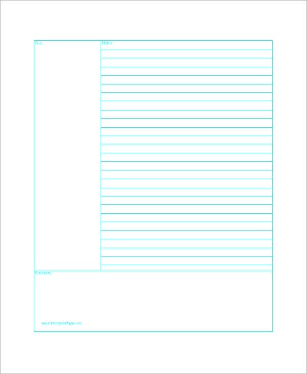 Printable Lined Paper Sample - 8+ Examples in PDF, Word - sample lined paper