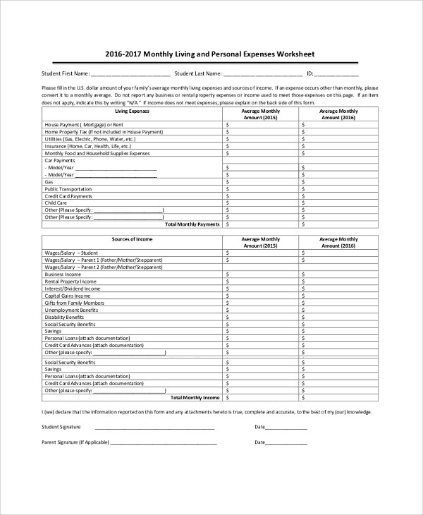 9+ Sample Expense Reports Sample Templates
