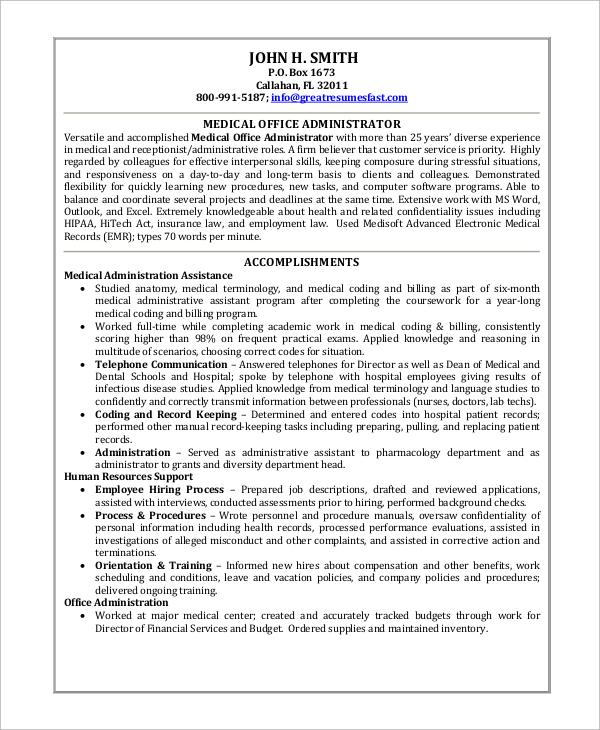 Medical Istant Resumes \u2013 resume