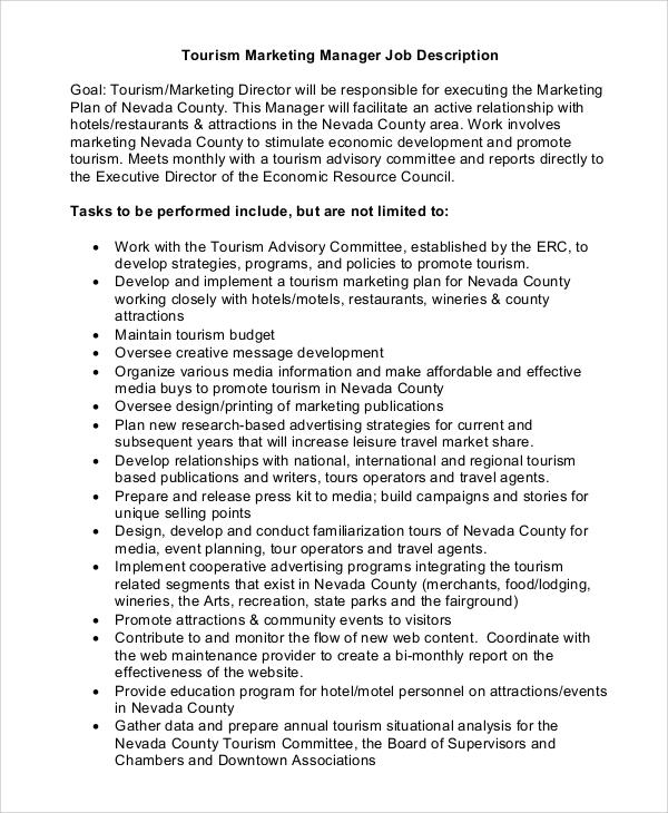 Director Job Description Idea Mena Communications Manager Idea - technical director job description