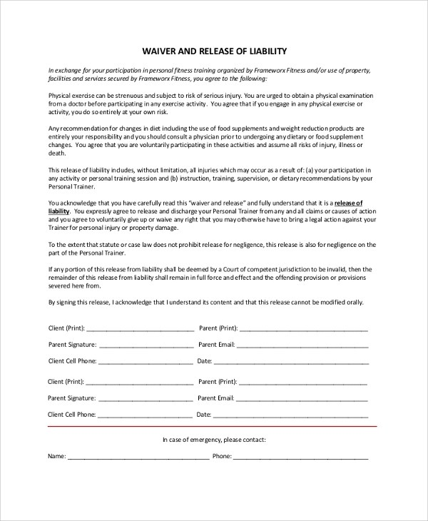 Top Result 60 Unique Waiver Of Responsibility Template Pic 2017 Sjd8 - product liability disclaimer template