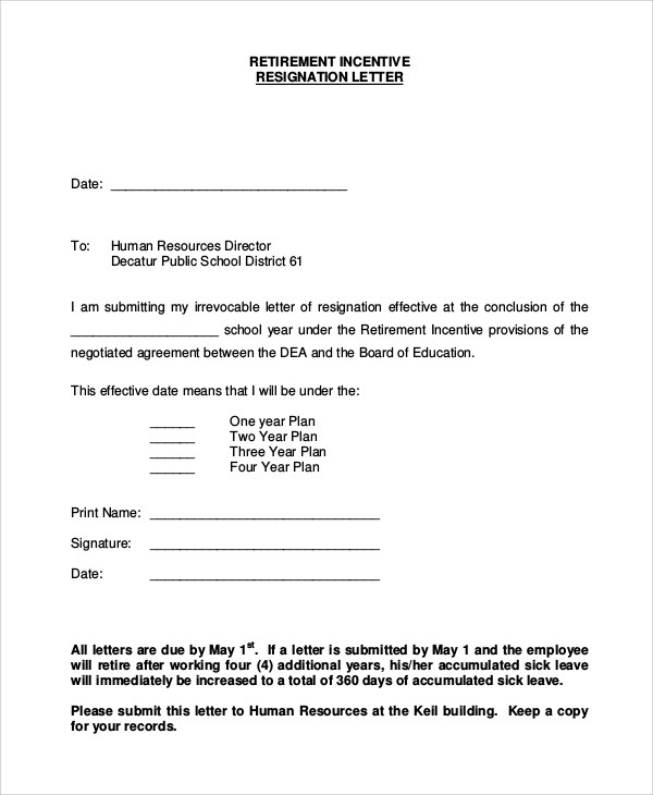 Example Of Retirement Letter  SaveBtsaCo