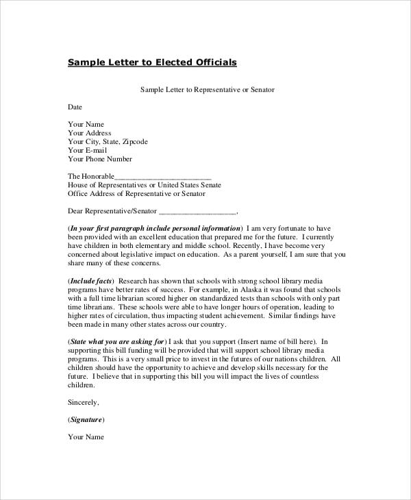 8+ Professional Letter Format Samples Sample Templates
