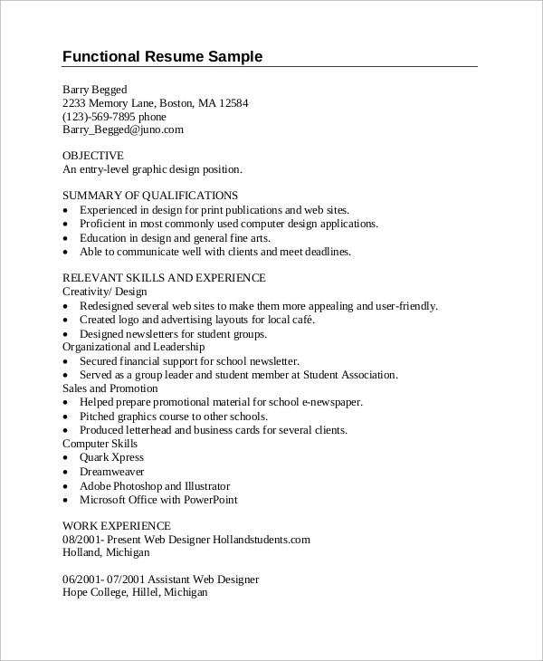 sample graphic design resume 7 examples in pdf 86 graphic design resume. Resume Example. Resume CV Cover Letter