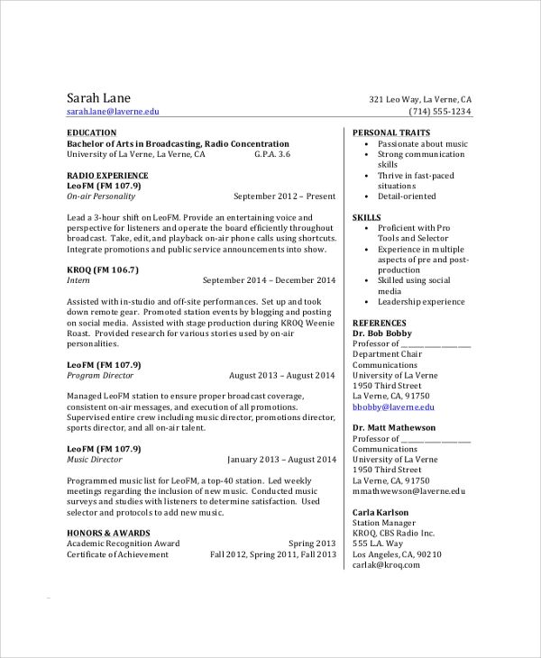 resume help high school students