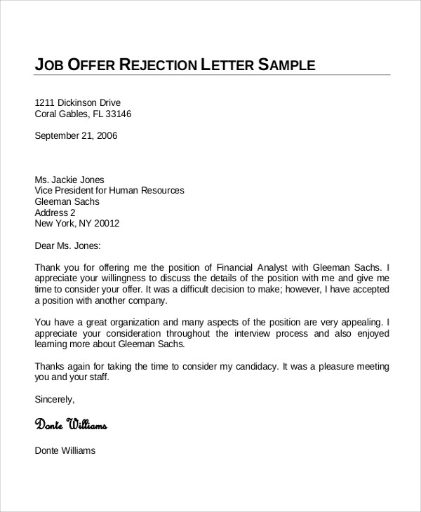 job offer letter sample word format free sample job offer letters free sample letter templates sample