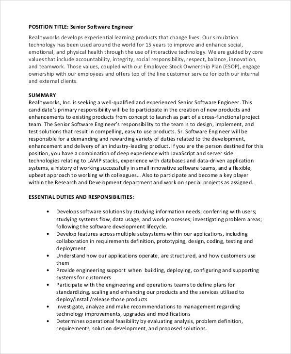 Software Engineer Cover Letter  NodeCvresumePaasproviderCom