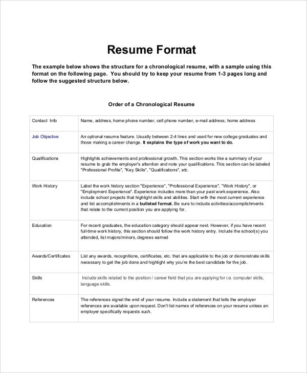 9+ Sample Sales Resumes Sample Templates