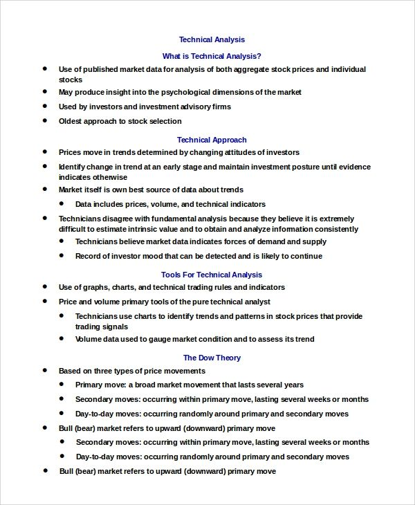 technical report template