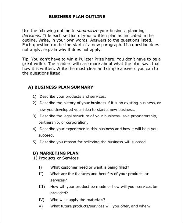 business plan for new business - Pinarkubkireklamowe