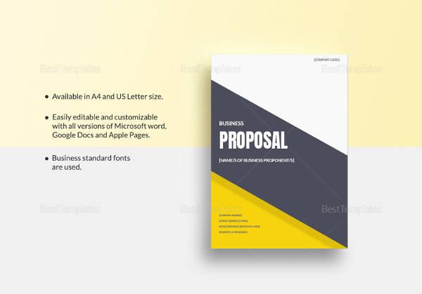 16+ Business Proposal Samples Sample Templates