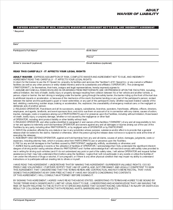 liability waiver form node2003-cvresumepaasprovider - liability waiver template word