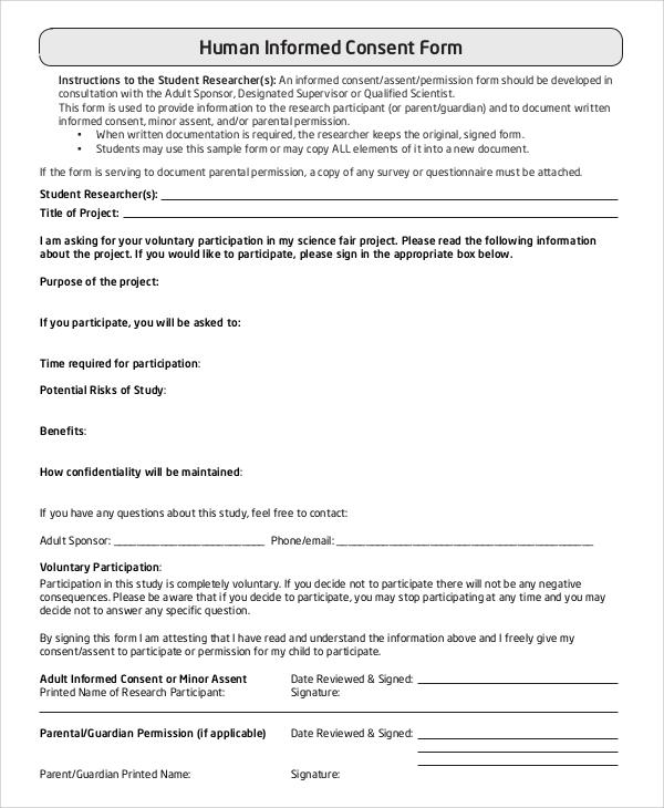 informed consent form | lukex.co