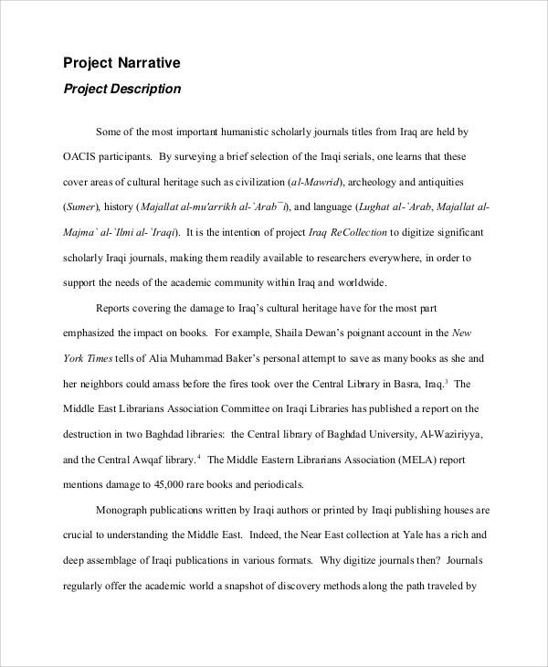 Sample Project Proposal - 15+ Examples in Word, PDF - project proposal example