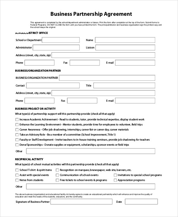 9+ Sample Business Forms Sample Templates - business form