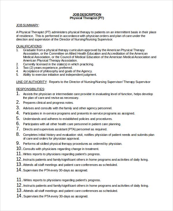 emergency physician job description
