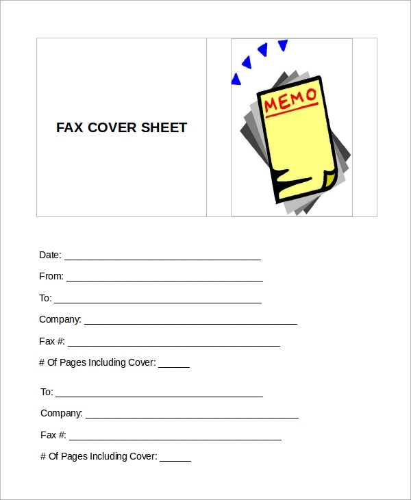9+ Sample Fax Cover Sheets Sample Templates - fax cover letter word