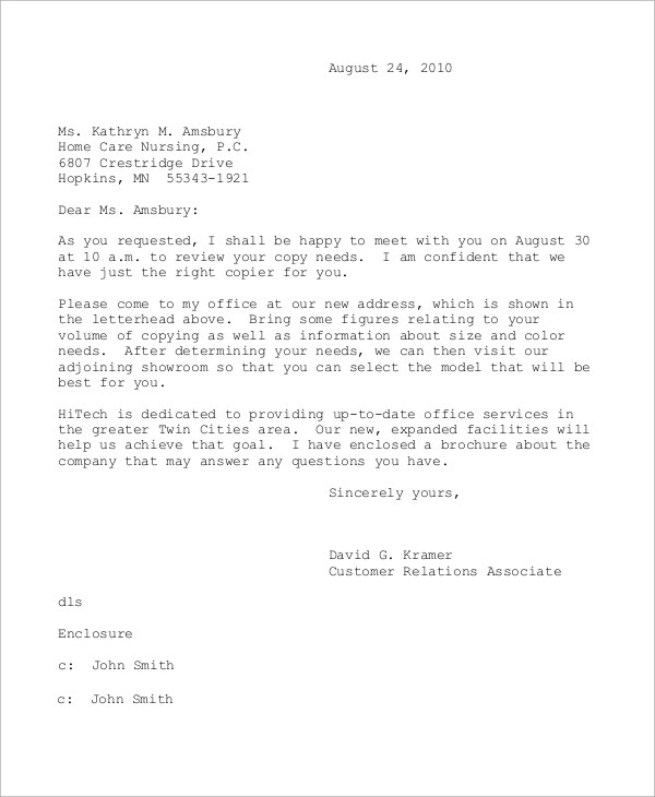 Resignation Letter With One Week Notice Sample Template Business Letter Example 9 Samples In Word Pdf