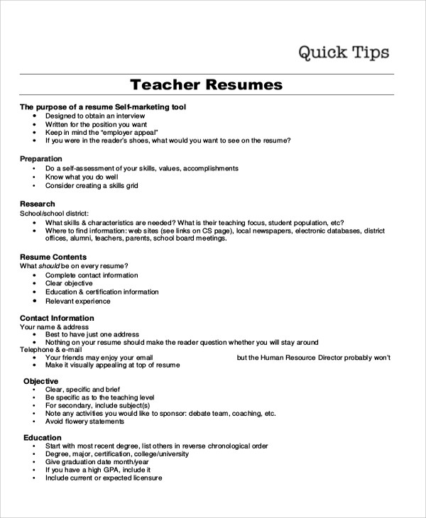 10+ Resume Objective Examples Sample Templates - Resume Objective It