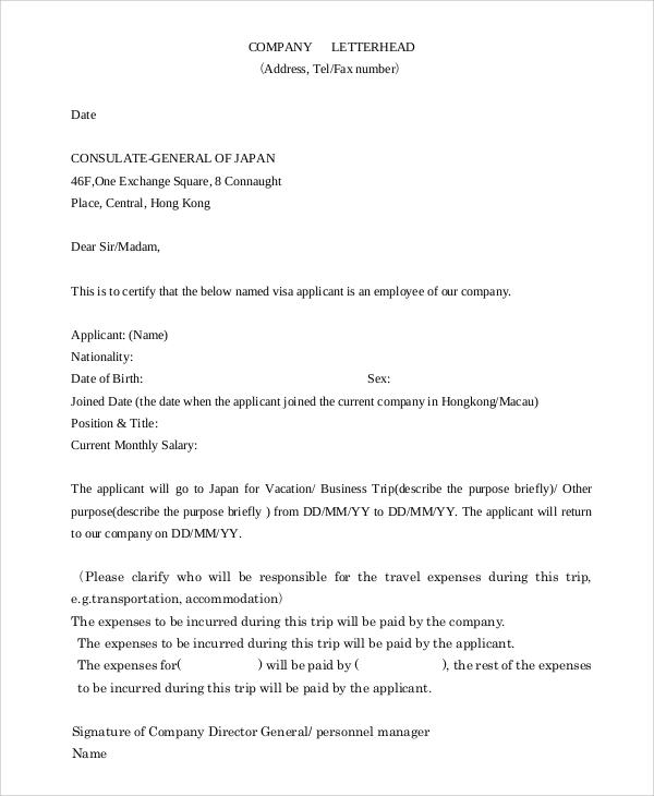 8+ Sample Company Letterheads Sample Templates