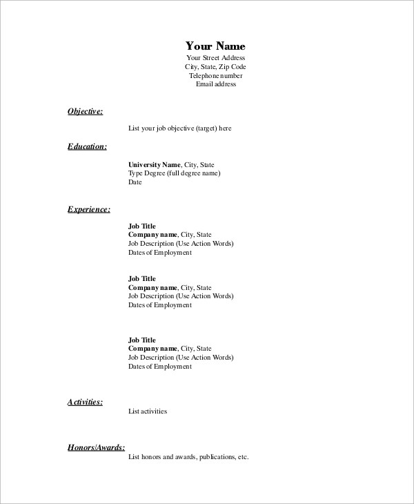 Meghan Morrison - Custom Songs basic resume template objective (1 - basic resume objective