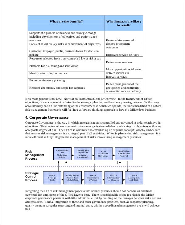 10+ Risk Management Plan Samples Sample Templates
