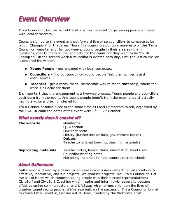 Lingo24 Technical Writing Services how to write an evaluation - event summary report template