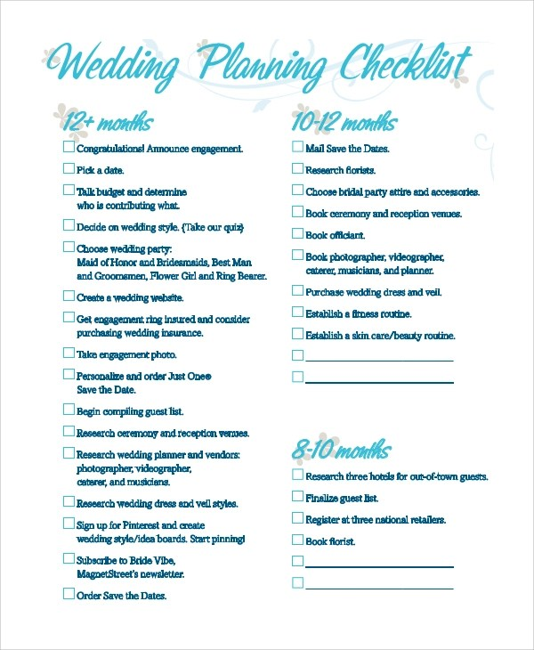 wedding checklist pdf - Ozilalmanoof - wedding checklist pdf