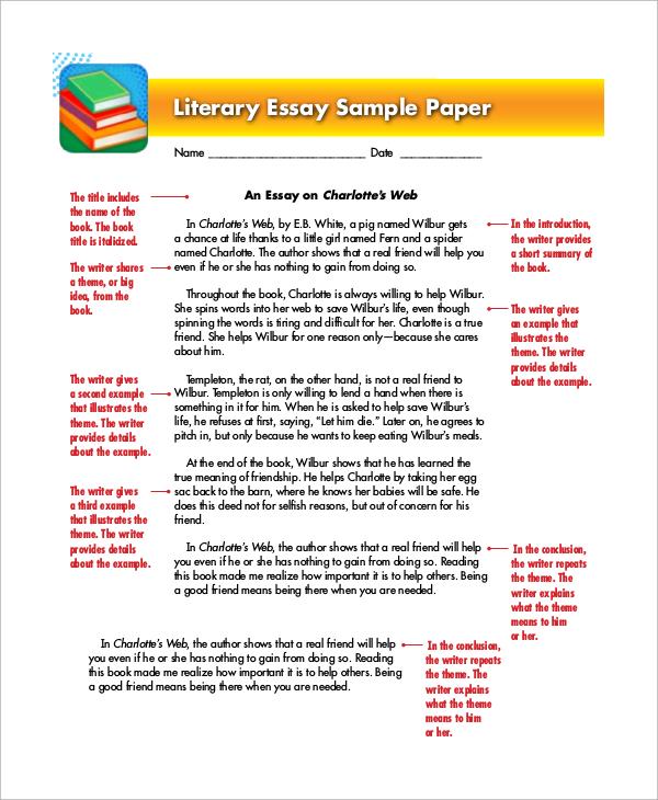 literary essay examples cheap dissertation ghostwriter website - essay examples in literature