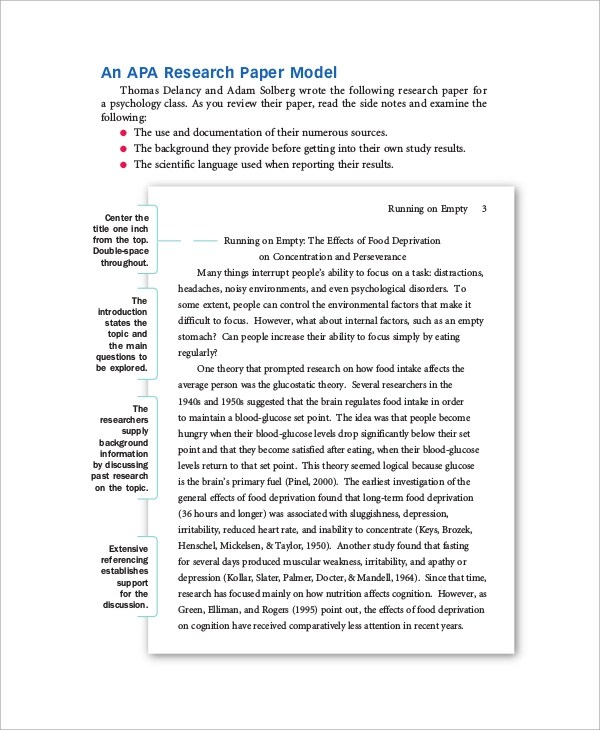 formatting a research paper apa - Maggilocustdesign - paper formatting guidelines