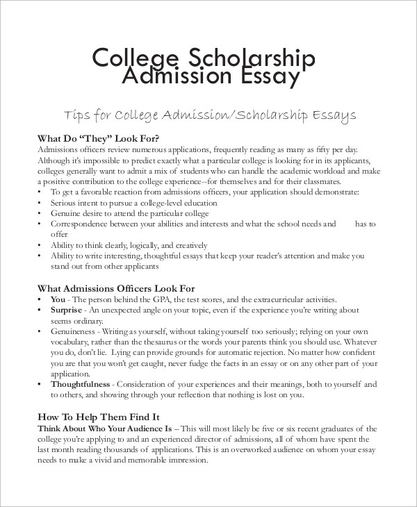 essay college scholarships - Onwebioinnovate