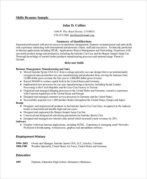 leadership skills for resume examples lexu