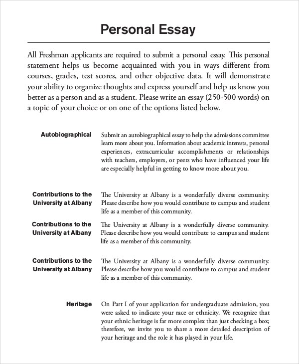 Personal life essay examples Term paper Example - followthesalary