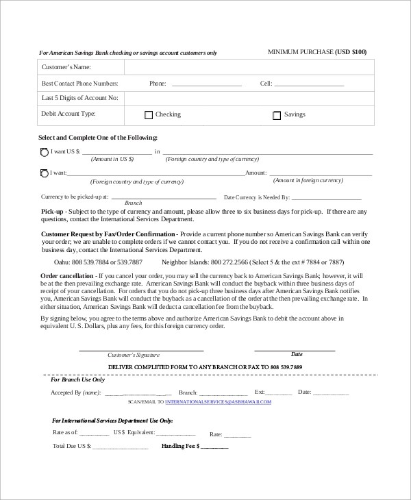 Sample Purchase Order Form - 11+ Examples in Word, PDF