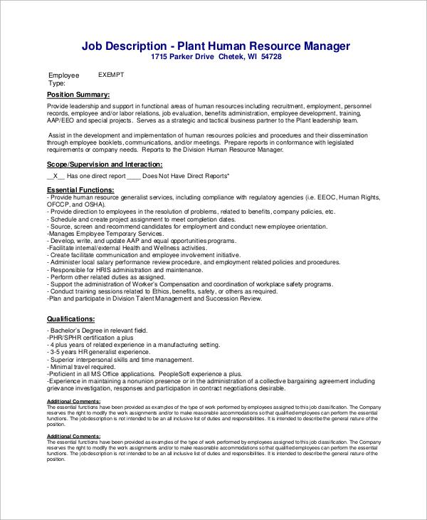Best Hr Director Job Description Contemporary Best Resume – Hr Manager Job Description