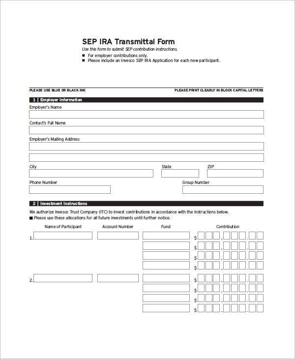 9+ Sample Transmittal Forms Sample Templates