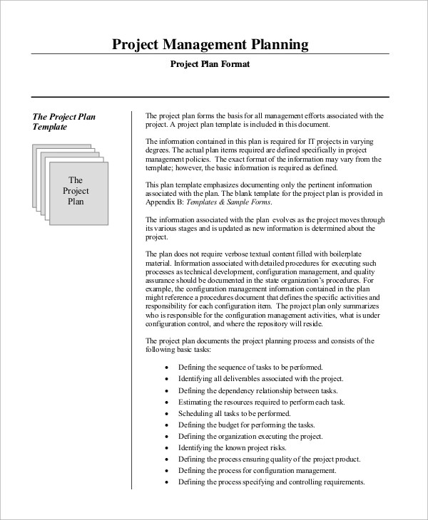Sample Project Management Plan - 13+ Examples in Word, PDF