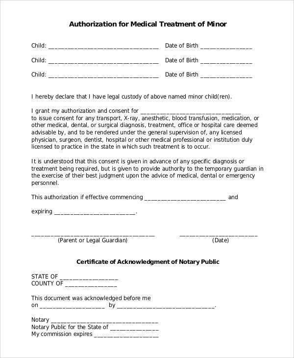 Sample Medical Form - 10+ Examples in Word, PDF - bsa medical form