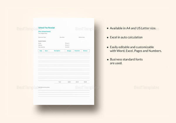 13+ Payment Receipt Samples Sample Templates
