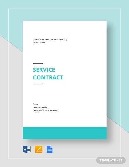 Service Contract Template - 19+ Download Free Documents in Word, PDF