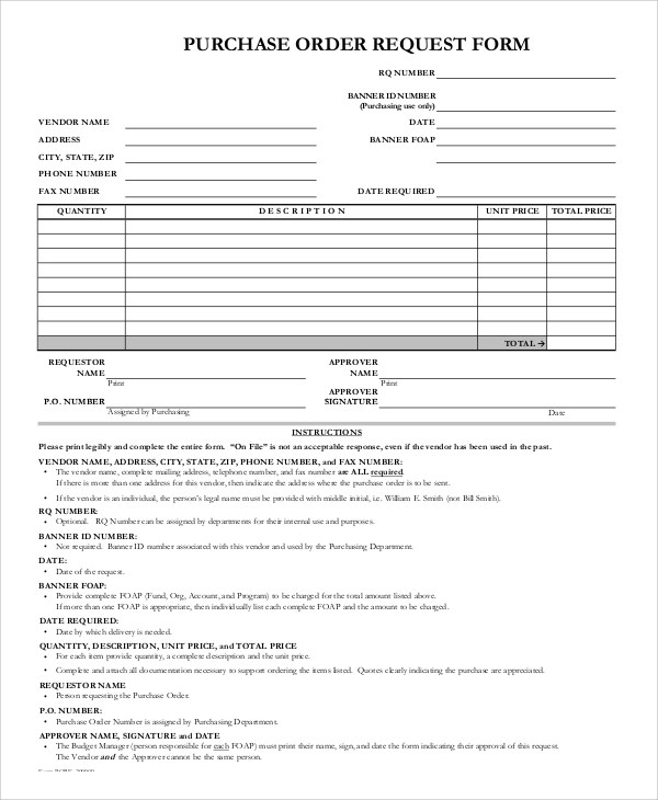 Purchase Request Sample. Example Of Letter Of Proposal (Request
