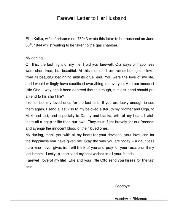 Free Sample Love Letters To Wife Sample Love Letters To Boyfriend - love letter to husband