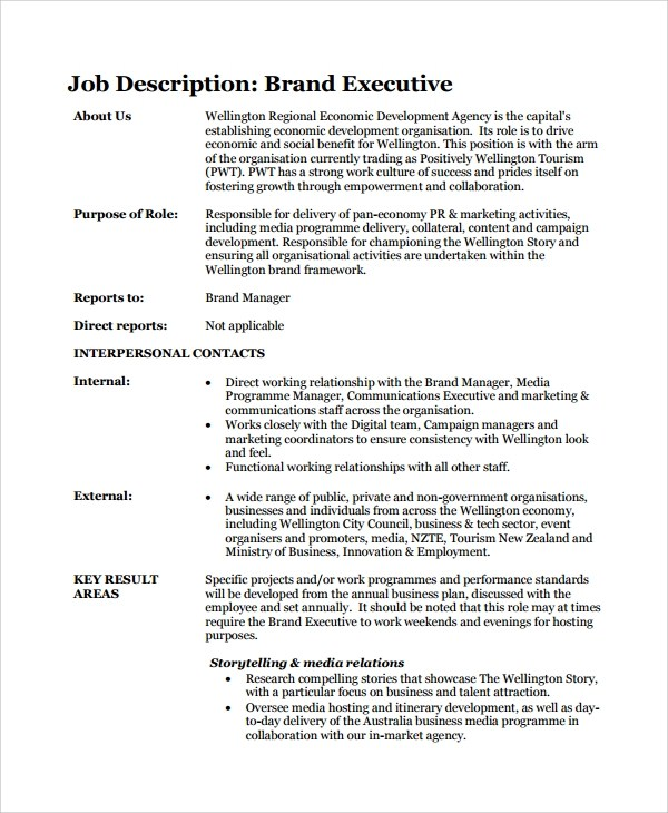 executive editor job description – Associate Editor Job Description