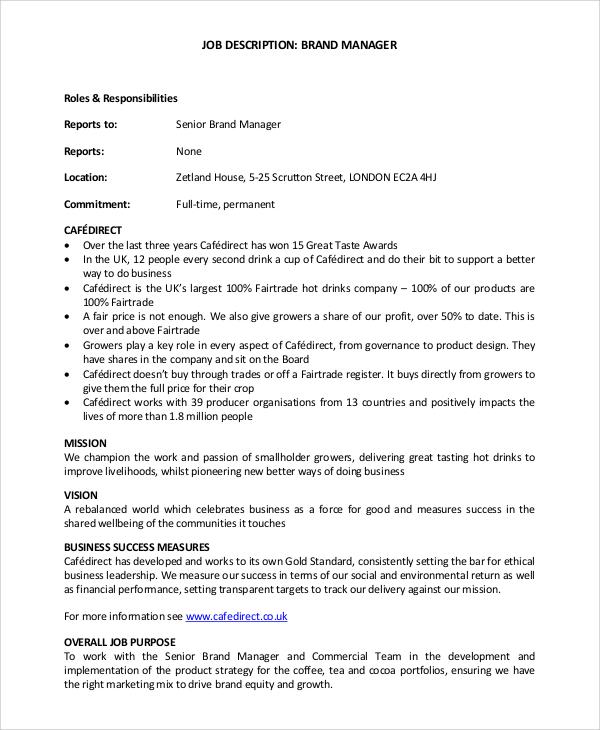 Bar Manager Job Description  NodeCvresumePaasproviderCom