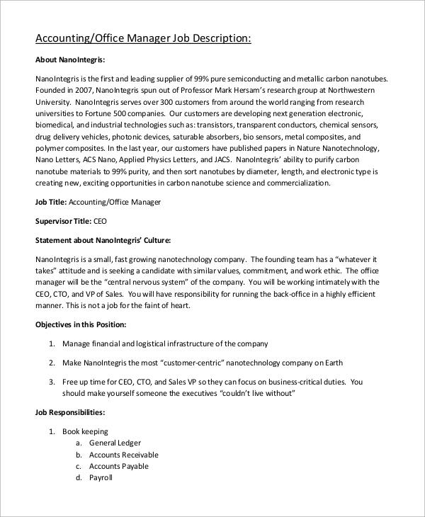 Cto Job Description Sample Executive Resume For A Cto Executive - ceo job description