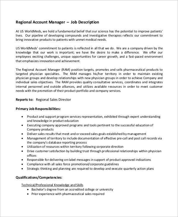Sales Director Job Description Plainresume Co