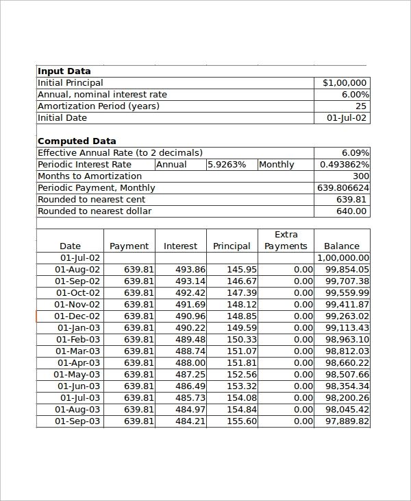 mortgage monthly payment calculator excel