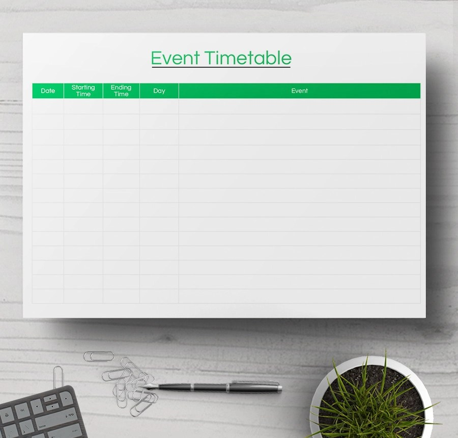 Event Timetable Template Crazy_Hour_Preview_File - event timetable template